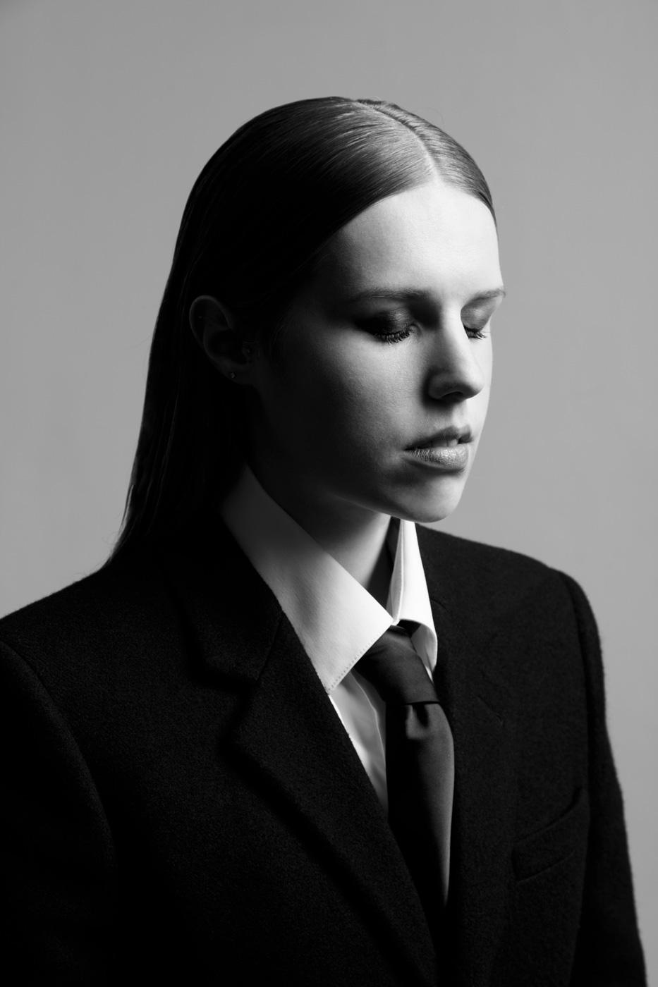 Portrait d'Anaïs du salon de coiffure à Rouen Veronick Pruvot