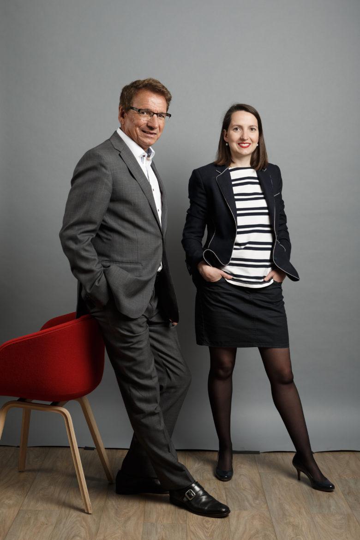 Jean-Paul Rivière & Dorothée Lebarbier Groupe Altitude