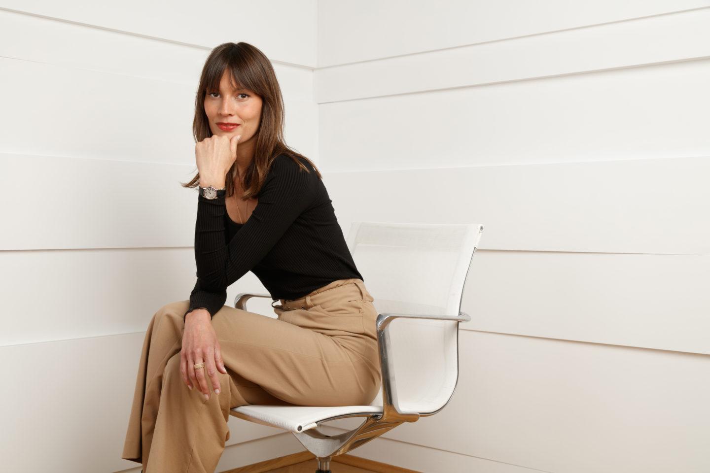 Portrait corporate de Marion Lepigeon Olivieri pour le cabinet d'avocats Laude Esquier Champey.