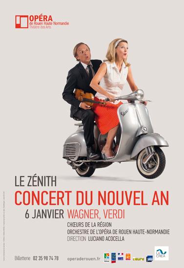 Concert nouvel ans Zenit opéra de Rouen