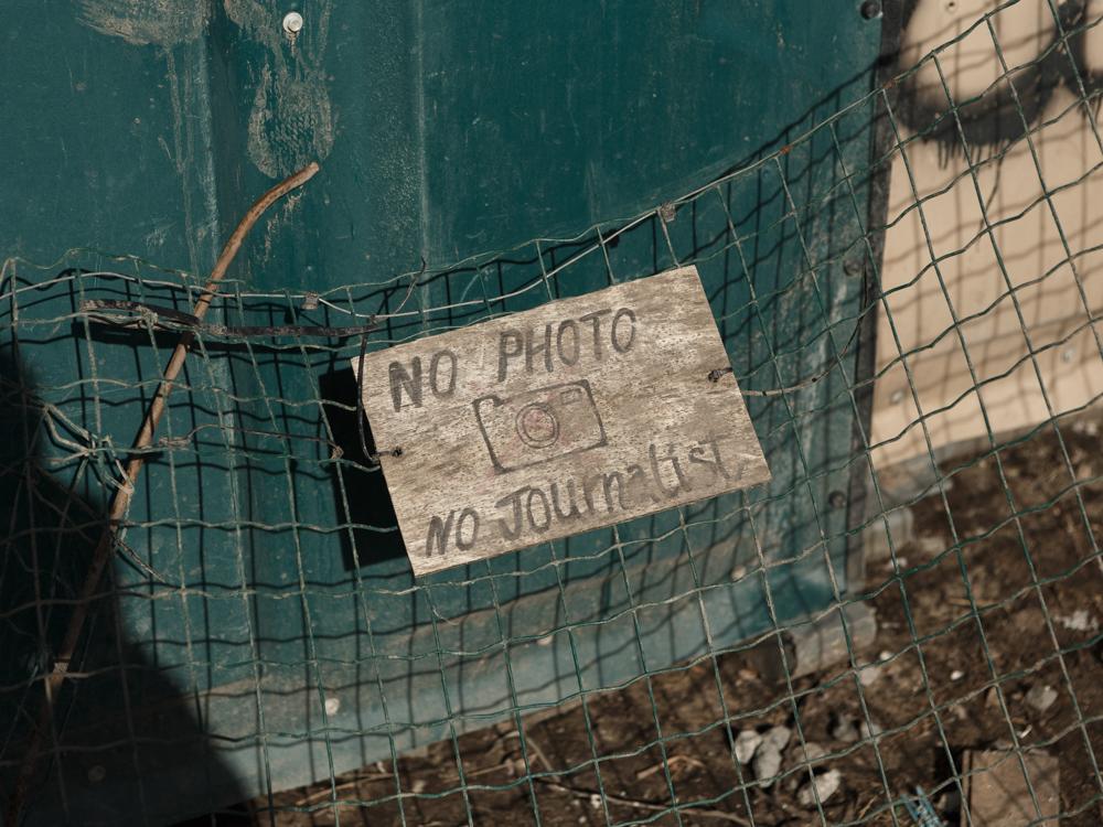 Jungle de Calais © David Morganti